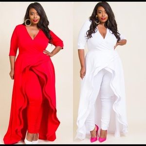 Other - Sexy Hi-lo Plus Size Jumpsuit
